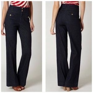 Anthropologie Wide Leg Trouser Pants by Elevenses